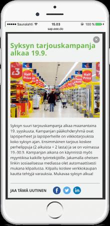 Koko organisaation sosiaalisen myynnin ja työntekijälähettilyyden sisältömarkkinointi