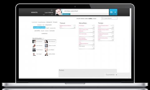 sosiaalisen intranetin tehtävienhallintatyökalu