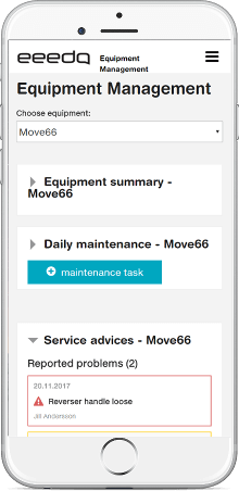 eeedo's vehicle fleet maintenance management software